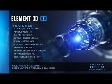 element 3d after effects cc crack mac
