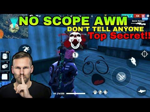 FREE FIRE | HOW TO SHOOT NO SCOPE AWM !!! | TIPS & TRICKS !!