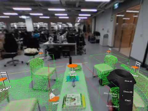 HTC Vive SRWorks 3D Semantic Segmentation