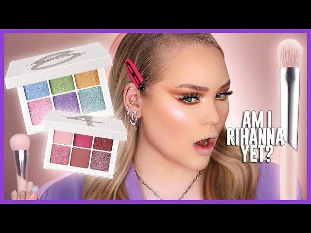 Full Face Using FENTY BEAUTY!! Snap Shadows FIRST IMPRESSIONS! | NikkieTutorials