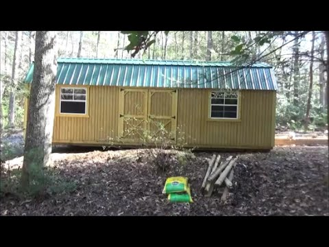 New Cabin/Clearing,Felling, Grading Part 1