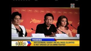 Andi elated over Cannes