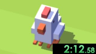So Crossy Road speedruns exist...