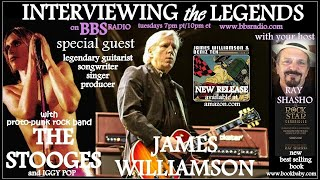James Williamson Guitarist for the Legendary 'Stooges' with Iggy Pop