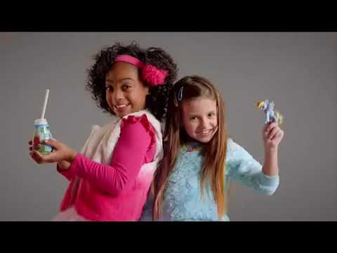 Lindsey Lamer: McDonald's Happy Meal TV Commercial  'Smile My Little Pony'