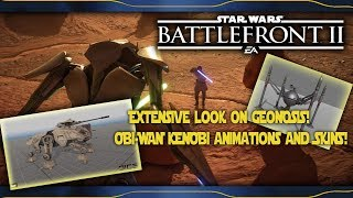 Extensive look on GEONOSIS! OBI-WAN KENOBI animations and SKINS! Star Wars Battlefront 2 News