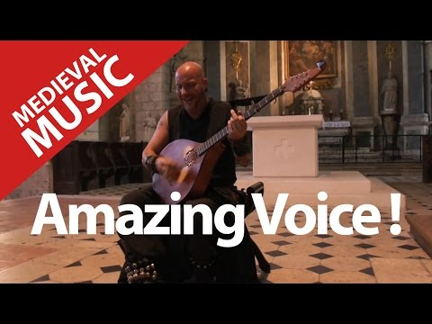 Incredible Medieval Music ! Famous Voice ! Luc Arbogast.