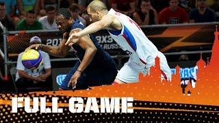 GAME OF THE DAY - Serbia v USA - Last 16 FIBA #3x3WC