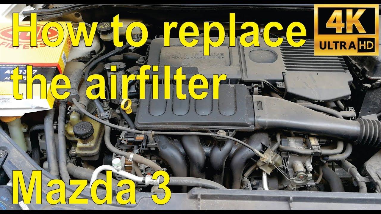 Filtre à air Mazda 3 BM 2,0 2013