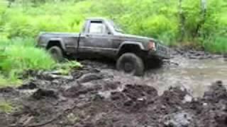 jeep mudding