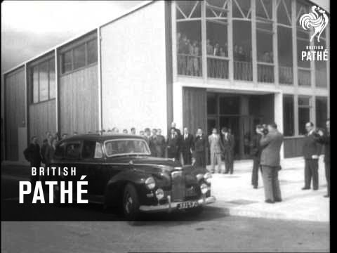 Sir Anthony Eden Visits Harwell Atomic Station (1955)