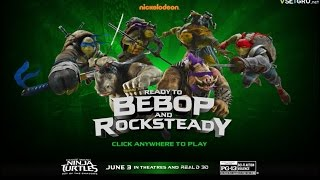 Teenage Mutant Ninja Turtles 2 Ready to Bebop and Rocksteady