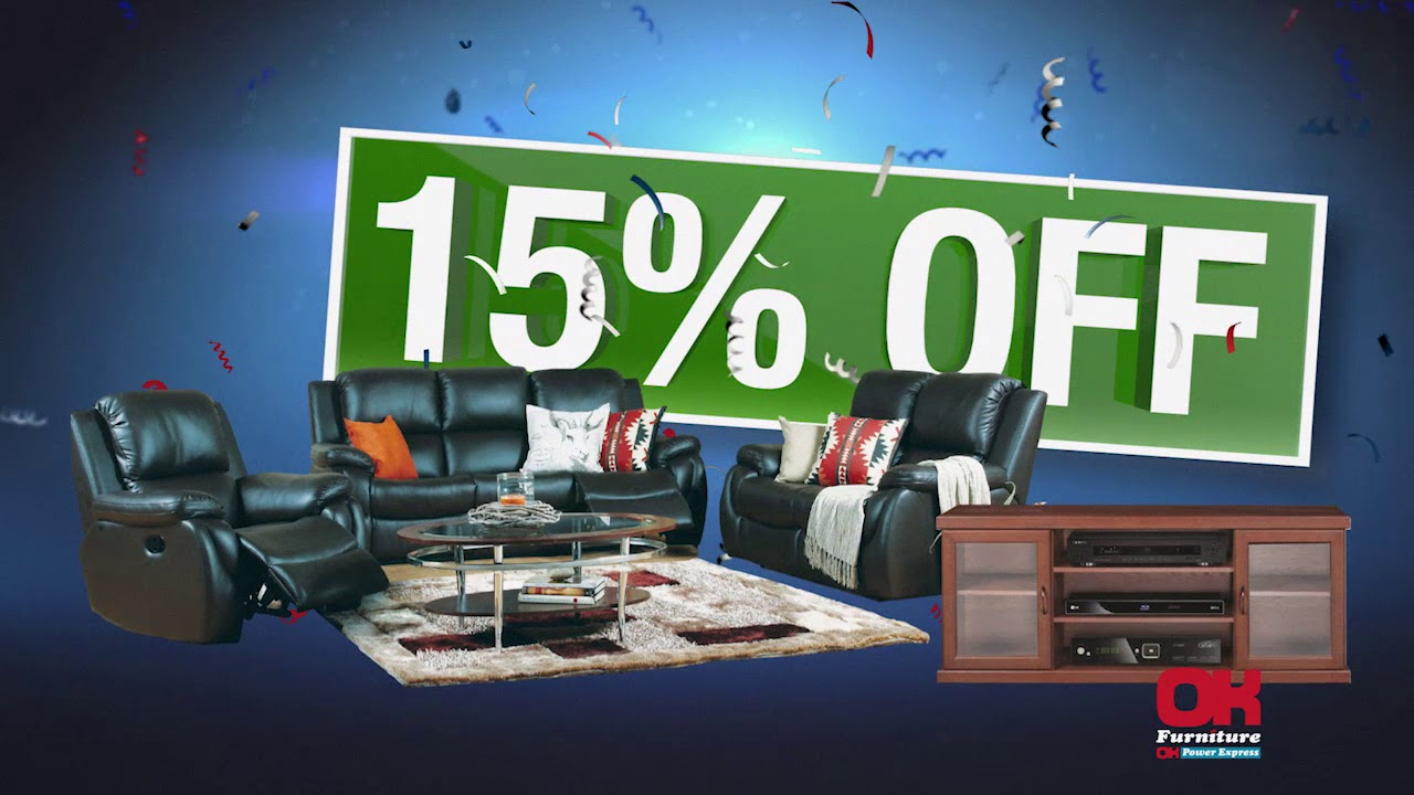 Get 15% OFF   Open U0026 Demo Furniture   THIS WEEKEND ONLY   OK Furniture