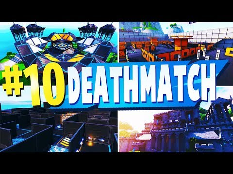 TOP 10 Best DEATHMATCH Creative Maps In Fortnite | Fortnite DM Map CODES