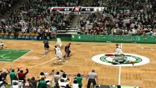 NBA 2K9: Playoffs -- Round 1 - Game 1 -- Celtics VS Hawks