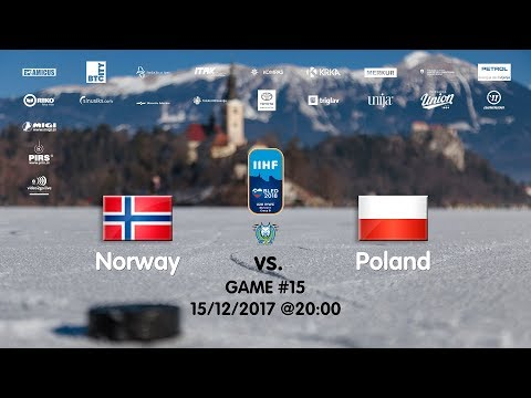 Norway - Poland #IIHFWJC1B #Bled
