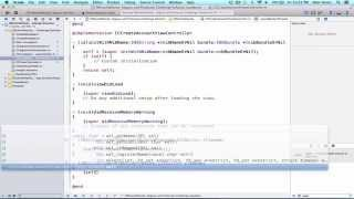 iOS Programming Tutorial - Use of NSUserDefault, Segues and Protocols in Objective C Part 3 - 44