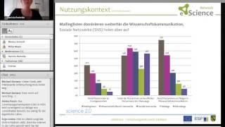 """Online-Event """"Wissenschaftliches Arbeiten in sozialen Netzwerken (Teil II)"""""""