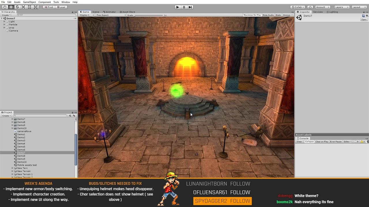 [EN/TR] MMORPG Development 1/90 Quick Prototyping with uMMORPG