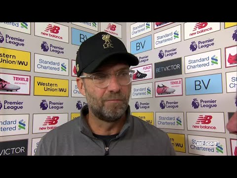 """""""It wasn't the game I expected"""" Jurgen Klopp post-match interview 