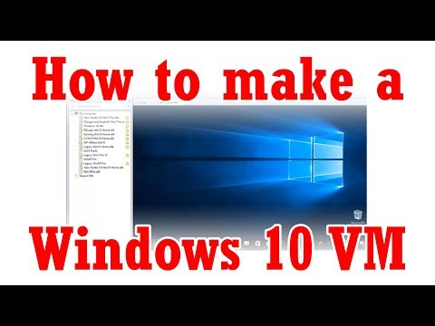 How To Create A Windows 10 VM Using VMware Workstation