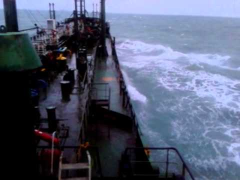 Rough sea at Bay of Bengal