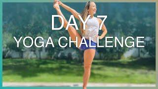 Quick Short Practice — Day 7 — Ashtanga Yoga Challenge — 30 Day Journey