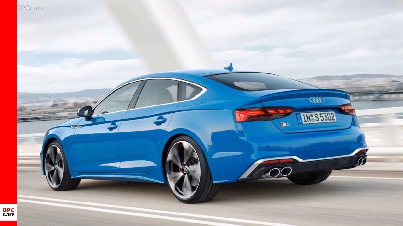 2020 Audi A5 Review.2020 Audi S5 Sportback