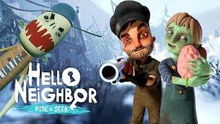 CERVEAAAUUUX, BWAAAAHHH (Hello Neighbor Hide and Seek #4)