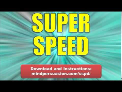 Super Speed   Become Faster Than Sight   Think And Act With Blazing Quickness