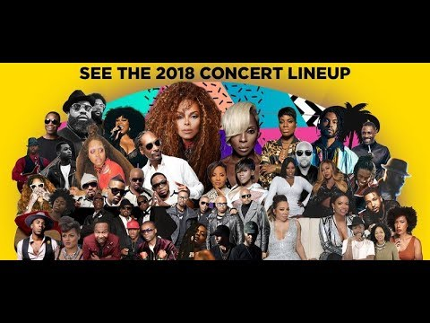 2018 Essence Music Festival Line Up
