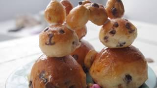 Chocolate hot cross bunnies