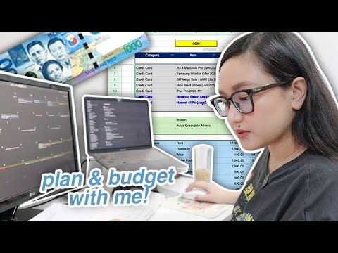 PLAN & BUDGET WITH ME! ✨ (admin day of a certified tita) | tita talks 🍵