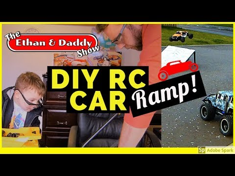 We build our own DIY RC Car ramp!