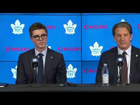 Kyle Dubas introduced as new Leafs GM - Full Press Conference