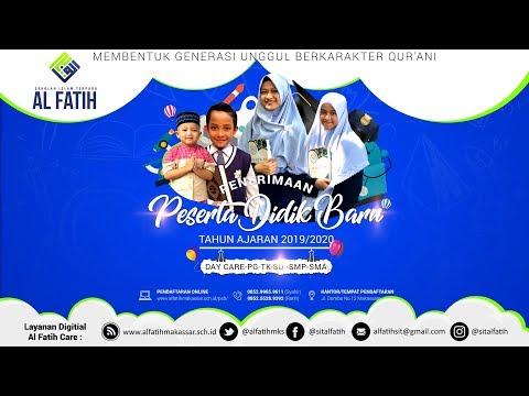 Penerimaan Peserta Didik Baru SMP-SMAIT Al Fatih T.A 2019/2020