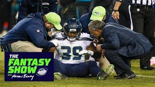 Seahawks RB Mike Davis moving around well after rib injury | The Fantasy Show | ESPN