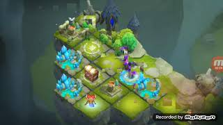 New hero storm eater gameplay just insain | Clastle Clash |