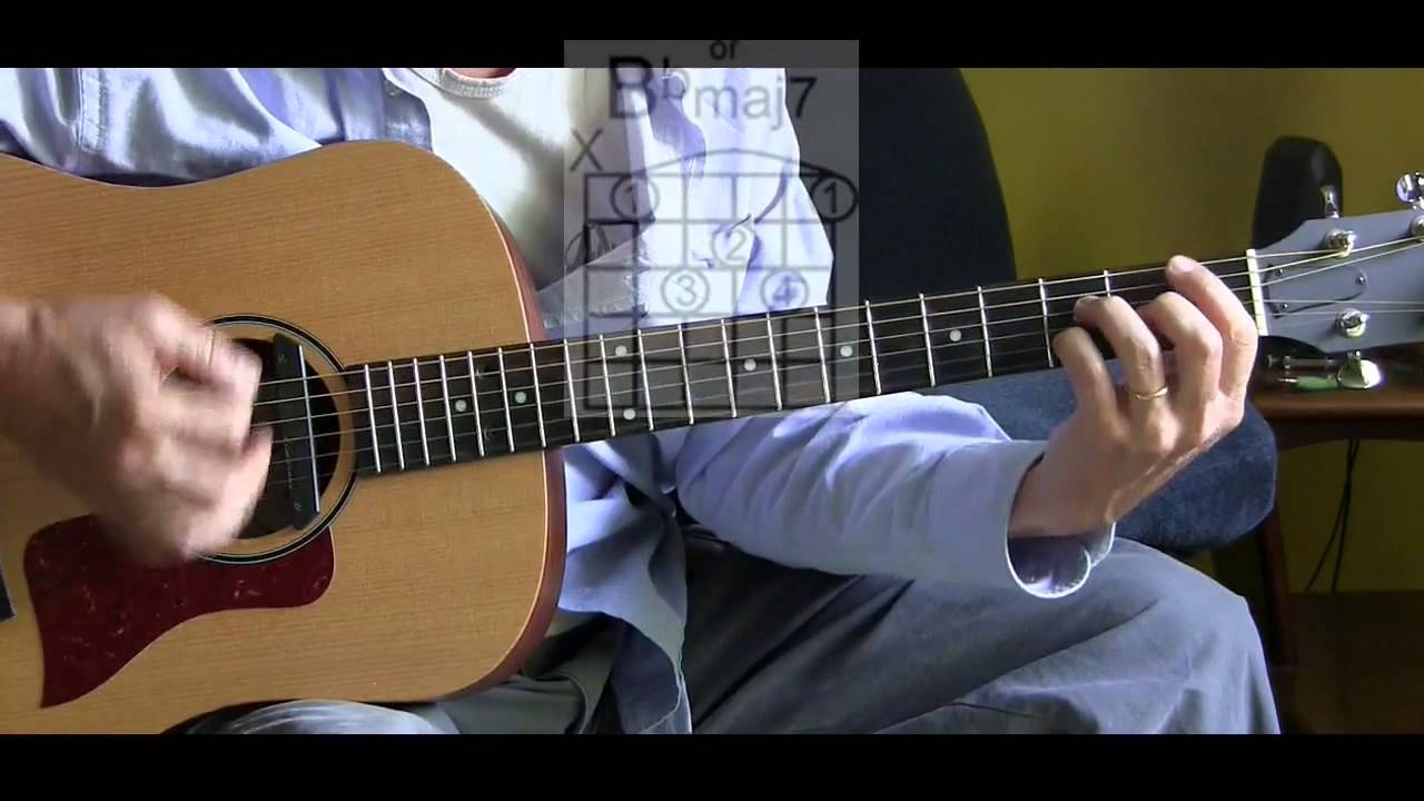 How To Play Unforgettable On Guitar Nat King Cole L43 Youtube