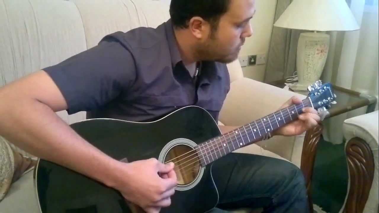 Whiskey Lullaby Guitar Lesson By Hatem Gaddah Youtube