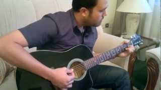 whiskey lullaby.. guitar lesson .. by Hatem gaddah