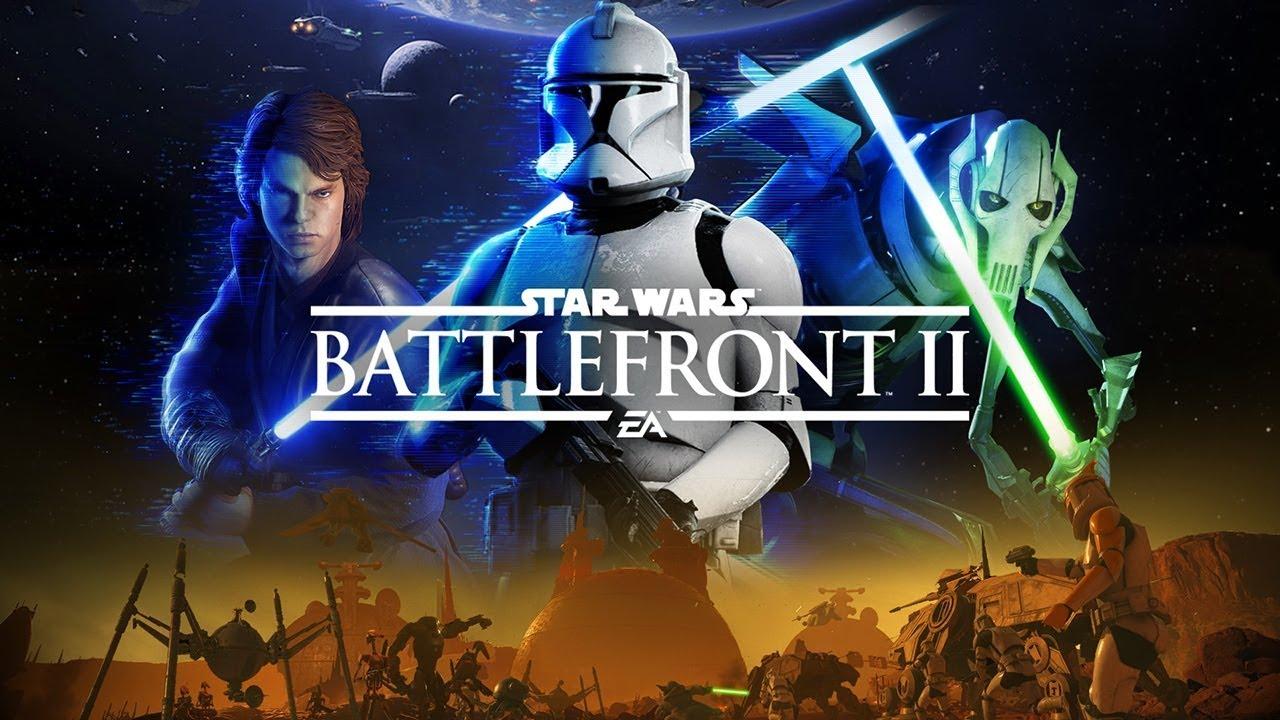"""Star Wars Battlefront II - """"The Clone Wars have begun ..."""