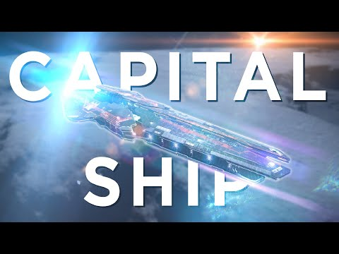 Capital Class Signature Detected - Elite Dangerous [ENHANCED GRAPHICS] - Capital Ship Encounter!)