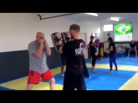 Punching Drills -MMA Krav Maga -Ricky Manetta