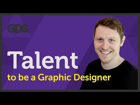 Talent to be a Graphic Designer? Ep21/45 [Beginners Guide to Graphic Design]