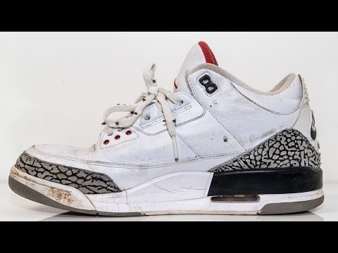 Restorations with Vick - Air Jordan White Cement 3 Restoration