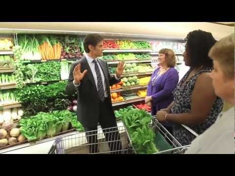 Dr. Oz shares healthy grocery shopping tips