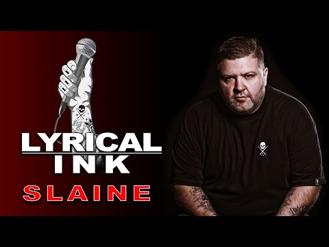 Tattoos and Music - Slaine | Lyrical Ink