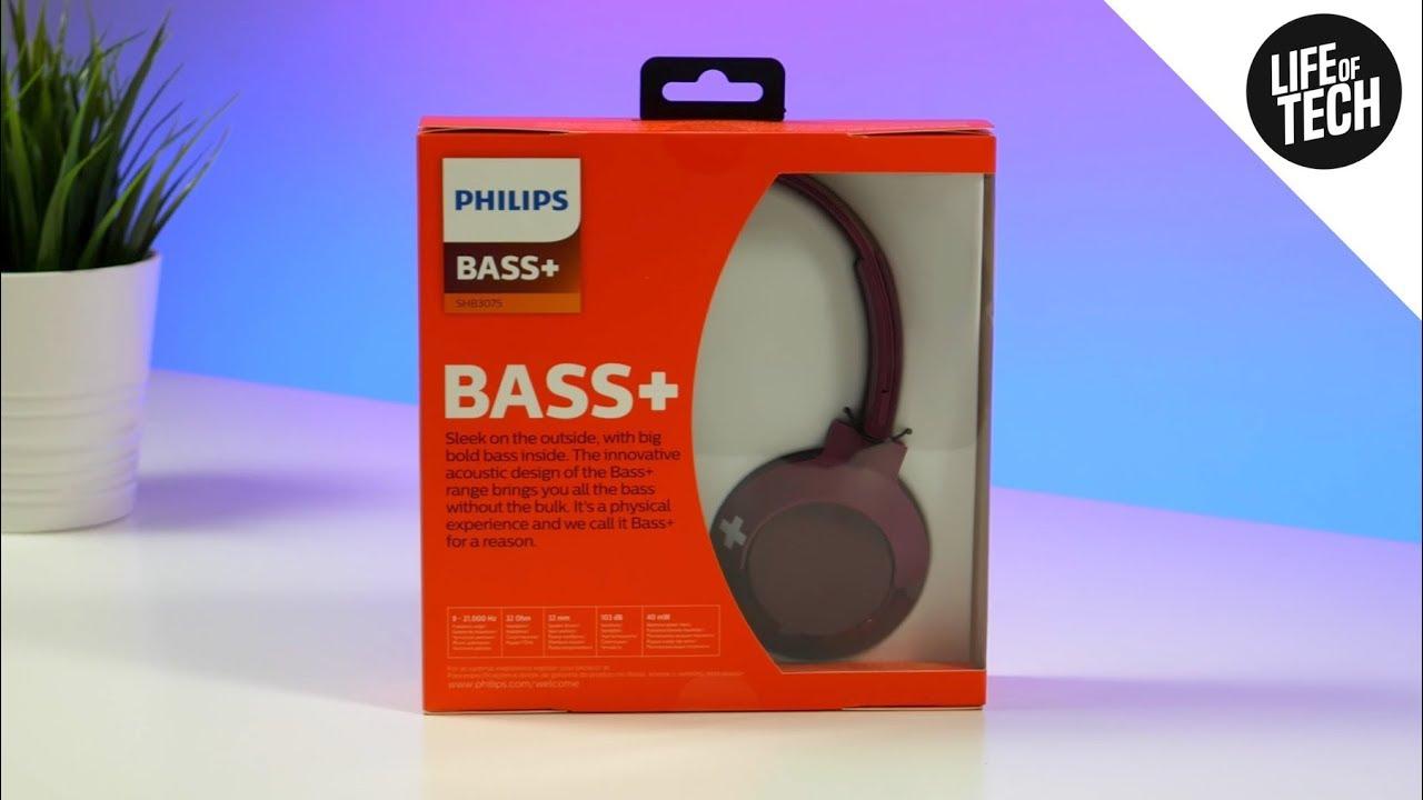 Philips Bass Shb3075 Wireless Headphones Review Unboxing On Ear Headphones 4k Youtube