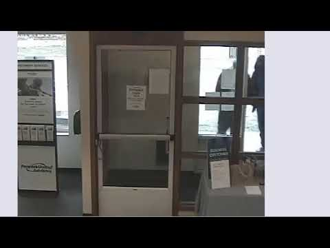 The New Canaan Police Department released new video of suspects implicated in a bank robbery.